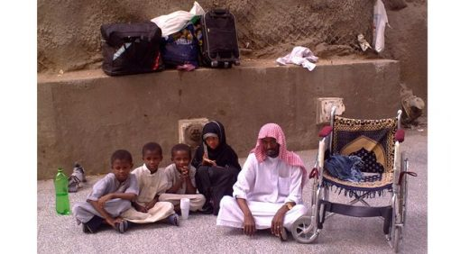 Homeless in Saudi Arabia