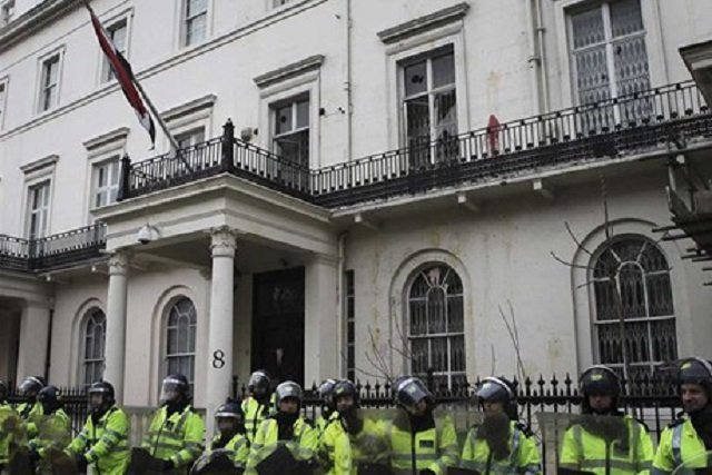 Wonder What Syrian Embassies Do?