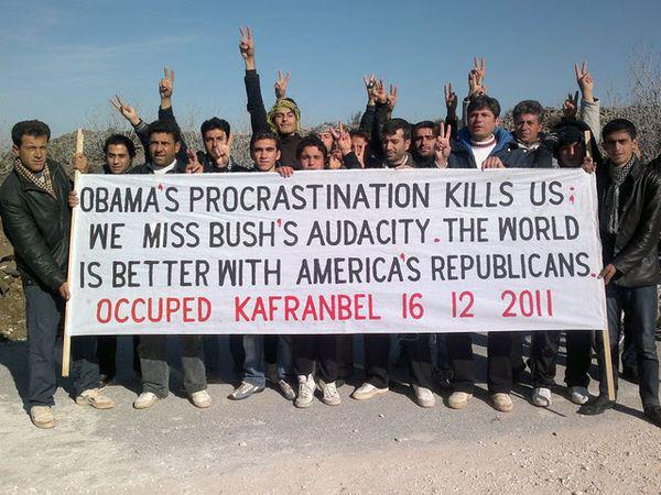 What Syrians Think of Obama