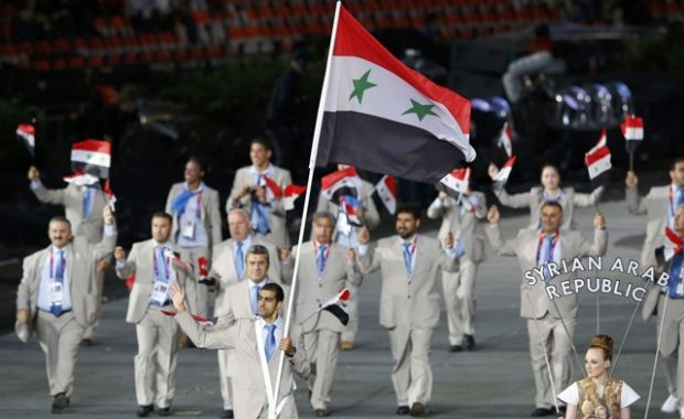 Syrian Olympics Athletes are Favors to Killer Generals