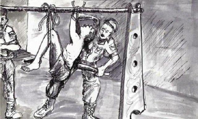 Sexual torture of men by women