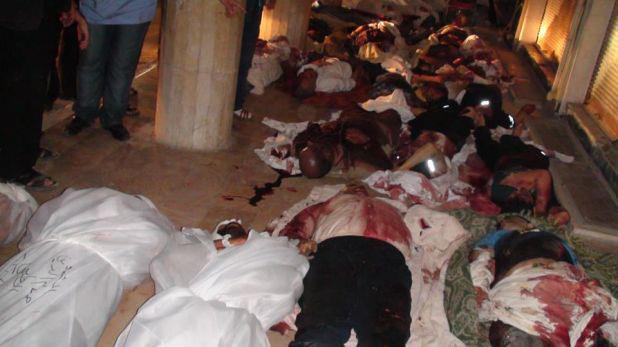 Assad Massacres 25 Women and Children in Douma