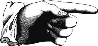 Disturbing Finger Pointing