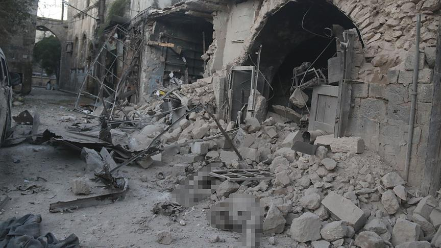 Massacre at a Bakery in Aleppo
