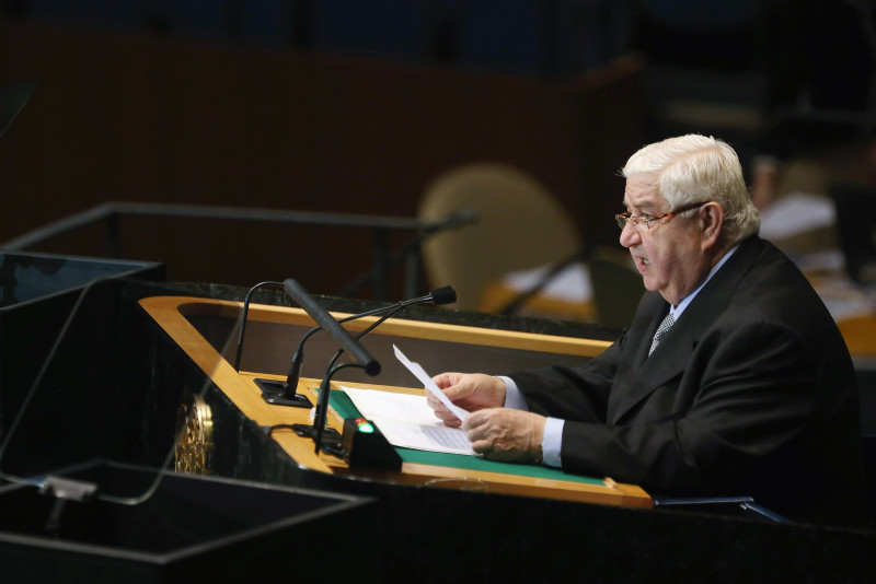 Open Letter to Syrian Foreign Minister Walid al-Moallem