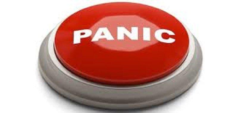Assad Finger on the Panic Button