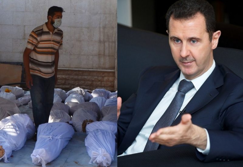 Genocidal Maniacs Outrage by Assad and Hezbollah