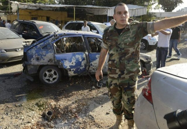 Rockets hit south Beirut after Hezbollah vows Syria victory