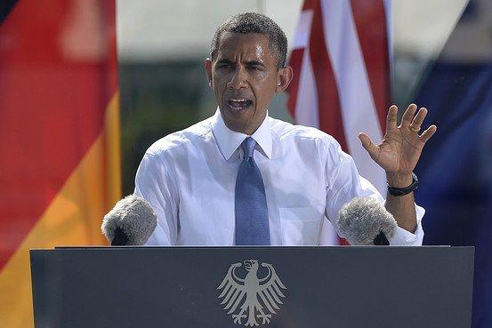 Aleppo Obama Speech (Sorry, Berlin)
