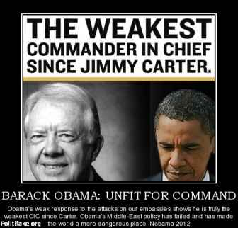 Barack Obama Unfit to be President of the United States of America