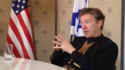 What is next for Senator Rand Paul Israel