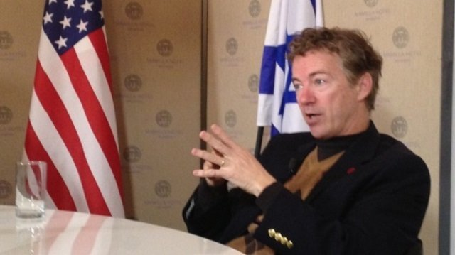 What is next for Senator Rand Paul? Israel?