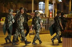China state media blames Syria rebels for Xinjiang violence