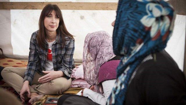 Samantha Cameron Pushing For Action on Syria