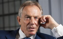 Tony Blair calls for intervention in Syria