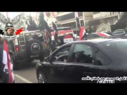 Assad's Motorcade Attacked by Rebels