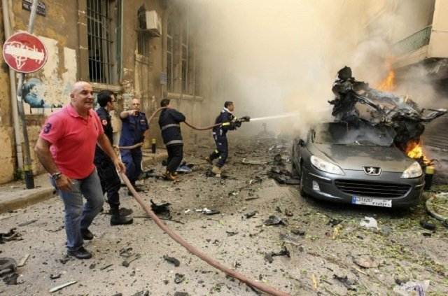 Beirut bomb ups fear of fallout from Syria war