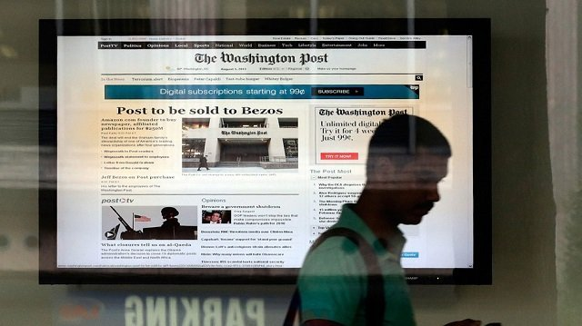 Washington Post Site Hacked 'By Syria Group'