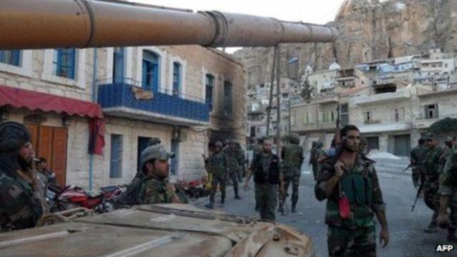 Christian villagers cast doubt on Syria jihadist threat