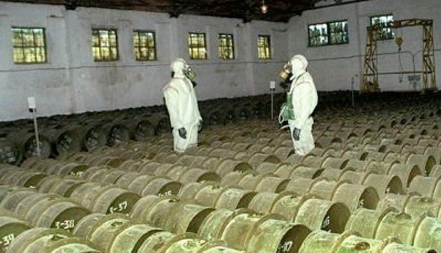 Elite Syrian Unit 450 Scatters Chemical Arms Stockpile