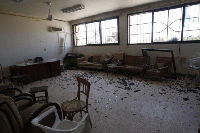 At least 16 dead as Syrian school hit in air strike