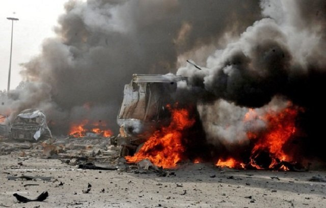 Minibus blast kills 21 in southern Syria