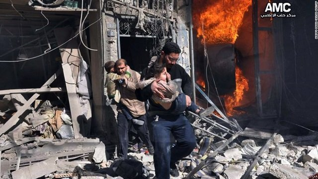 Syrian war's brutality isn't going away