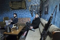 Rebels battle al-Qaeda-affiliated fighters across northern Syria