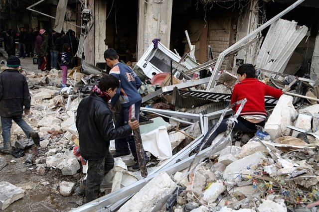 Russia blocks UN statement condemning Syria airstrikes