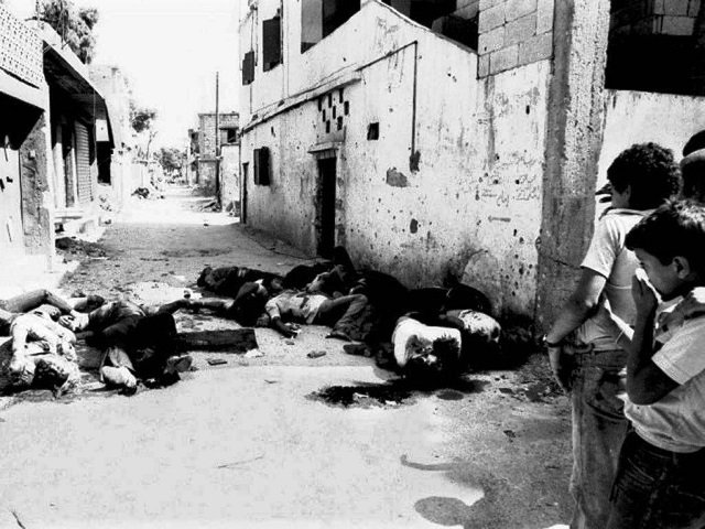 The real butcher of Sabra and Shatila is Assad