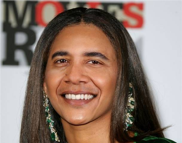 If Barack Obama were a woman