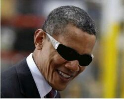 Is Obama that blind?