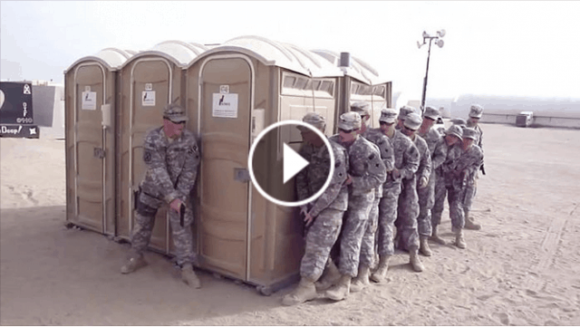 Funny video of US armed forces free spirit