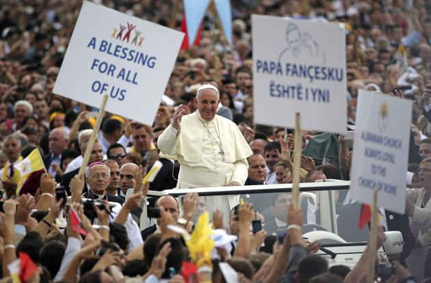 Pope delivered message the world wanted to hear