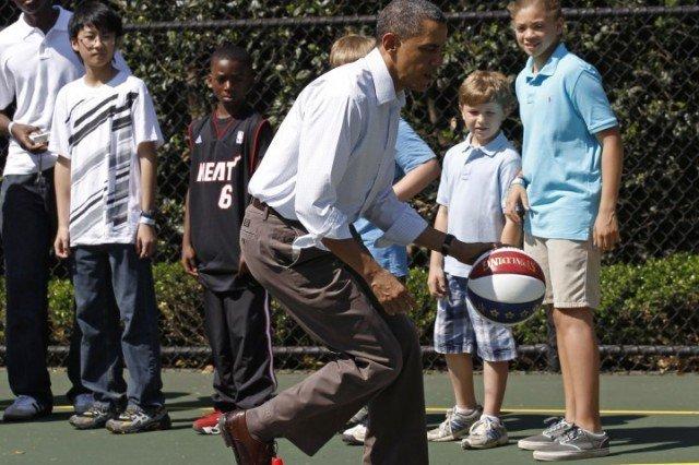 The Junior Varsity Team in the White House