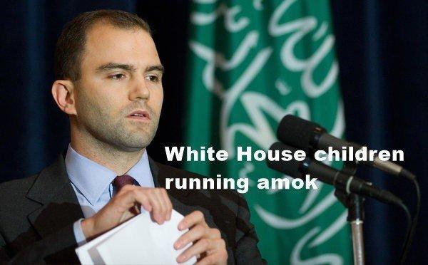 White House children running amok