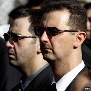Assad's inner Circle of Thugs