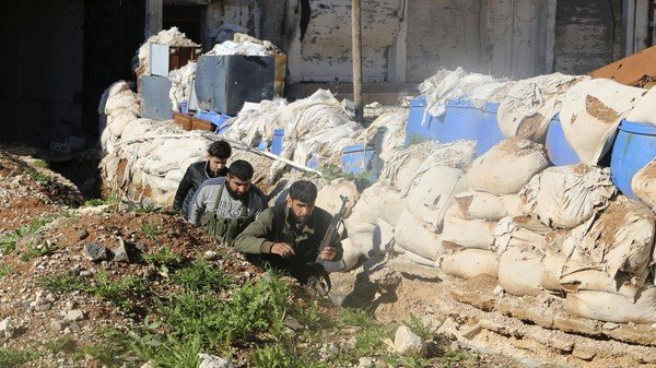 Syria rebels overtake strategic base in south
