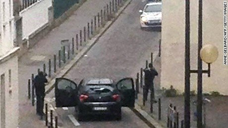 Video of Islamist terrorists executing injured French policeman