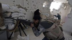Blast hits Aleppo intelligence HQ