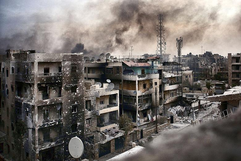 The worst place in the world? Aleppo in ruins after four years of Syria war