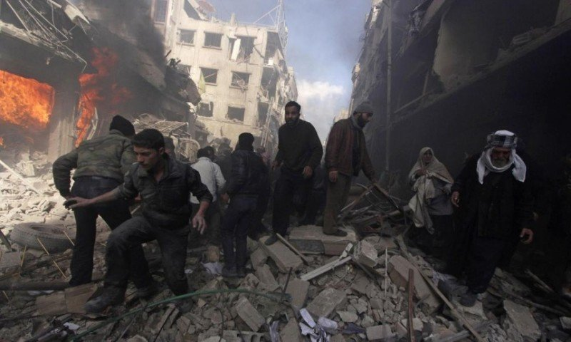 US should use radar to warn civilians of Syrian barrel bombs, group demands