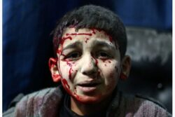 World yawns as Syria enters the dark ages