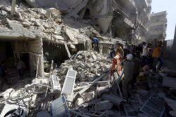 Assad Barrel Bombing Evidence Russians Keep Denying