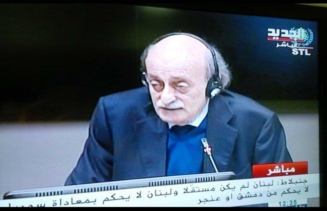 Jumblat at STL: Assad Showed Hostility towards Hariri before Becoming President