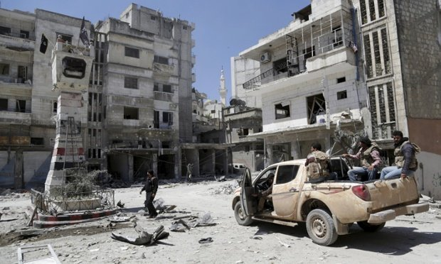 Assad Troops Battle to Free Trapped Forces