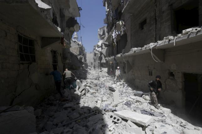 Death toll from U.S.-led strike rises to 52 civilians in Syria