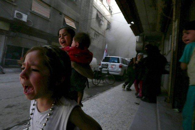 Obama Won't Touch Assad Gas Attacks