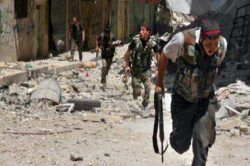 Rebels battle Syrian army near Latakya