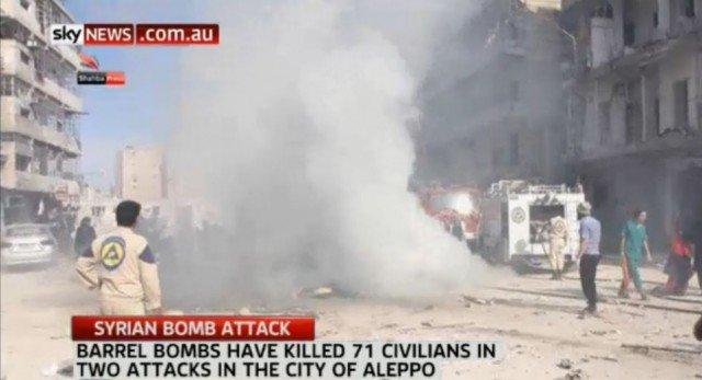 The Last Barrel Bombs Assad Will Drop